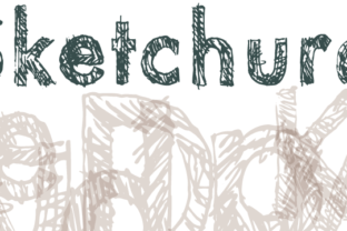 Sketchura Display Font By Rocket Type