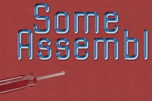 Some Assembly Font By Good Gravy Type Creative Fabrica