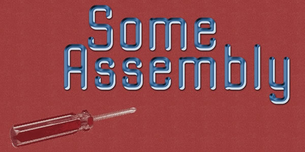 Print on Demand: Some Assembly Sans Serif Font By Good Gravy Type - Image 1
