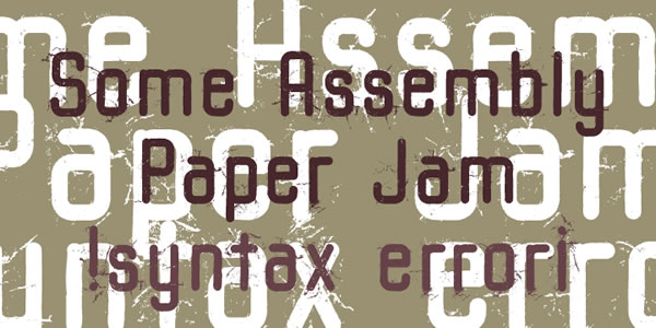 Print on Demand: Some Assembly Sans Serif Font By Good Gravy Type - Image 6
