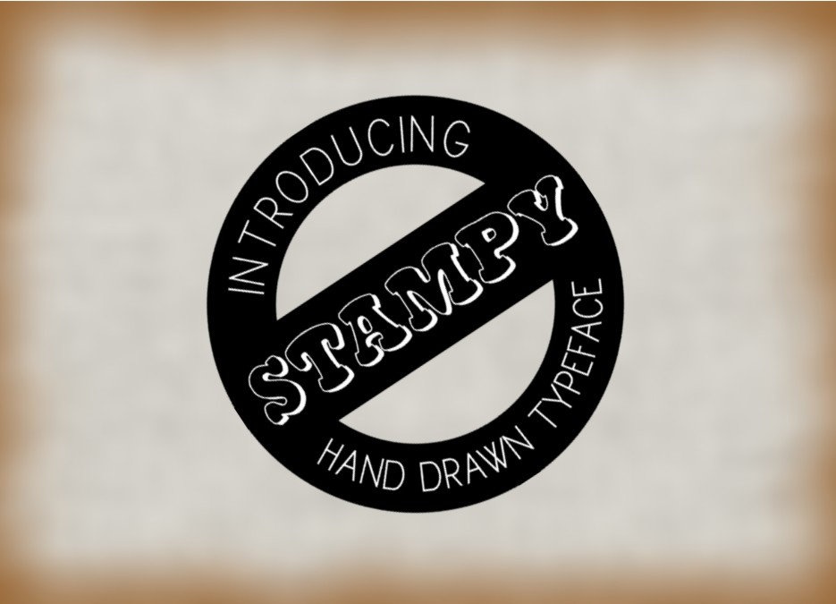 Print on Demand: Stampy Decorative Font By Eva Barabasne Olasz