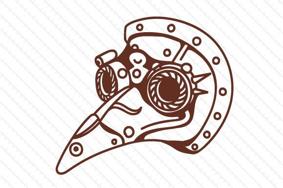Download Free Steampunk Plague Mask Svg Cut File By Creative Fabrica Crafts Creative Fabrica for Cricut Explore, Silhouette and other cutting machines.