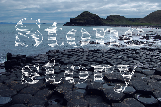Print on Demand: Stone Story Plus Decorative Font By Eva Barabasne Olasz