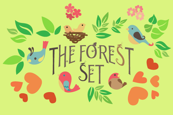 The Forest Set Kits & Sets Craft Cut File By Creative Fabrica Crafts