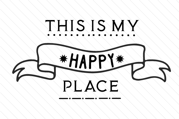 This is My Happy Place Home Craft Cut File By Creative Fabrica Crafts