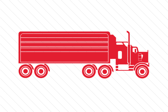 Truck Red Vehicles Craft Cut File By Creative Fabrica Crafts