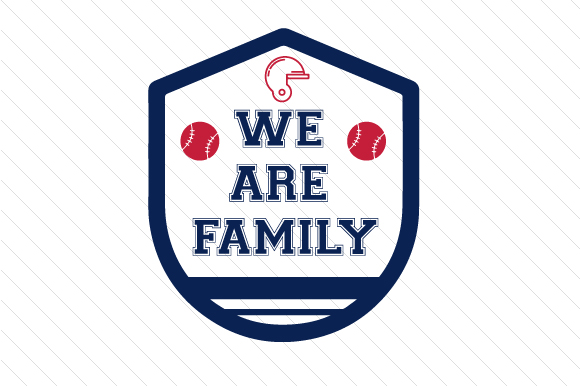 Download Free We Are Family Baseball Svg Cut File By Creative Fabrica Crafts for Cricut Explore, Silhouette and other cutting machines.
