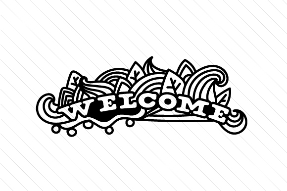 Welcome Word Art Craft Cut File By Creative Fabrica Crafts