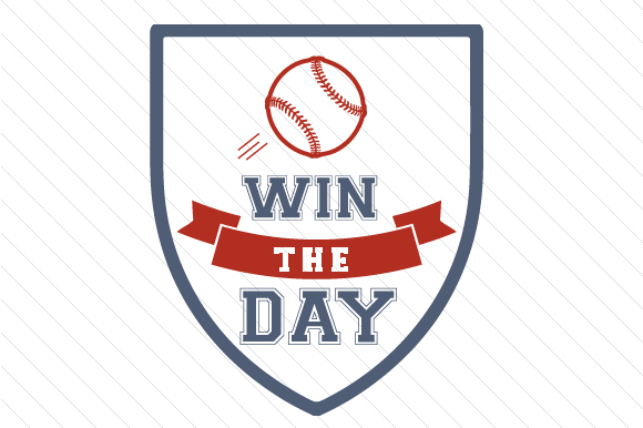 Download Free Win The Day Baseball Svg Cut File By Creative Fabrica Crafts for Cricut Explore, Silhouette and other cutting machines.
