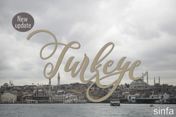 Print on Demand: Turkeye Script & Handwritten Font By Sinfa.co