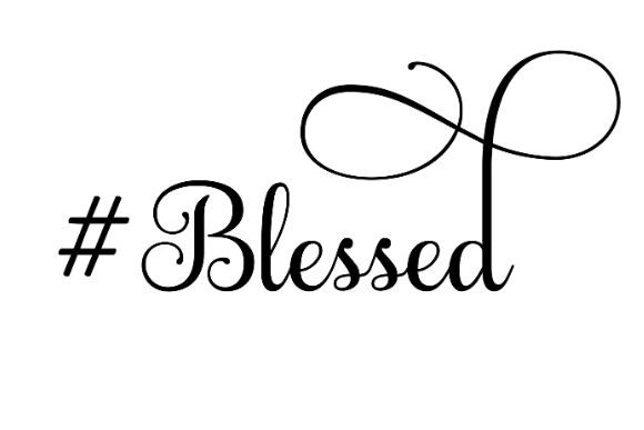 Download Free Blessed Svg Cut File By Creative Fabrica Crafts Creative Fabrica for Cricut Explore, Silhouette and other cutting machines.