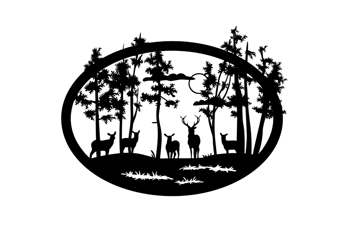 Download Free Nature Scene Svg Cut File By Creative Fabrica Crafts Creative for Cricut Explore, Silhouette and other cutting machines.