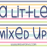 A Little Mixed Up by Misti