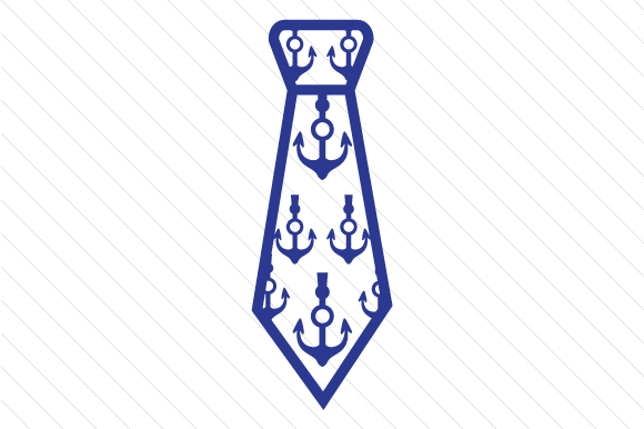 Download Free Anchors Patterned Necktie Svg Cut File By Creative Fabrica for Cricut Explore, Silhouette and other cutting machines.