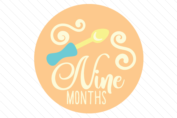 Babies First Year - Set of Monthly Baby Stickers Kids Craft Cut File By Creative Fabrica Crafts - Image 10