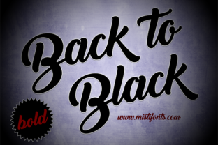 Back to Black Bold by Misti