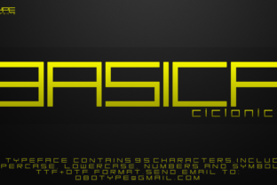 Basica Ciclonica Font By Qbotype Fonts