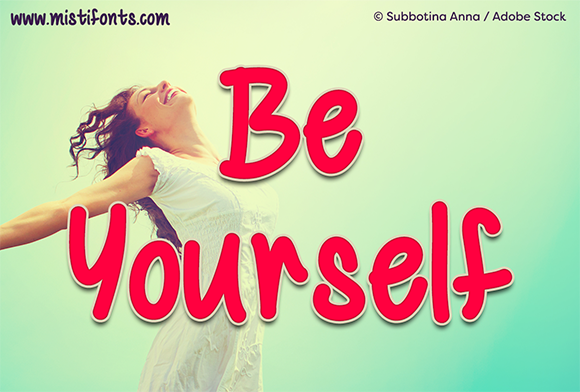 Be Yourself Script & Handwritten Font By Misti
