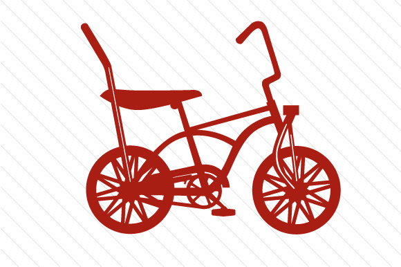 Bicycle Red Vehicles Craft Cut File By Creative Fabrica Crafts