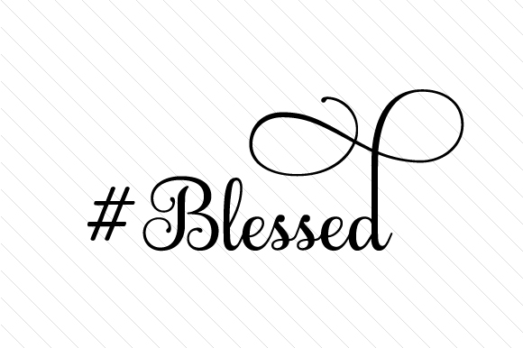#Blessed Craft Design By Creative Fabrica Crafts