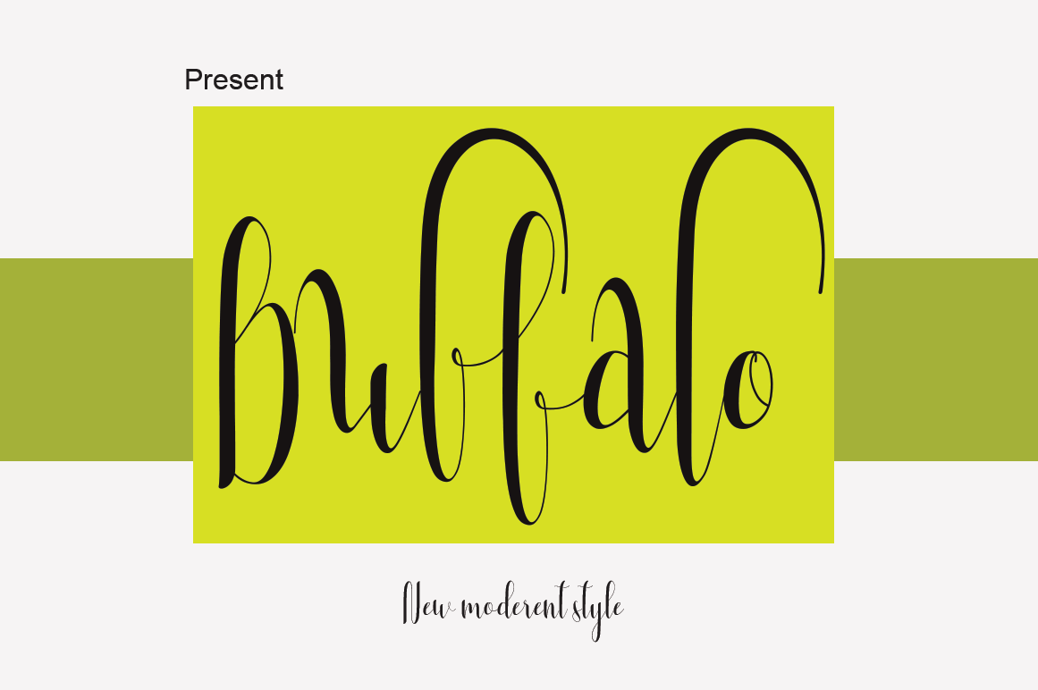 Print on Demand: Buffalo Script & Handwritten Font By Sinfa.co - Image 1