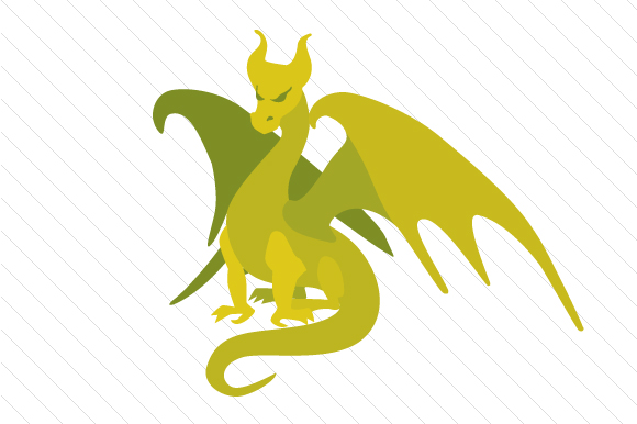 Dragon Clipart Cuentos de Hadas Archivo de Corte Craft Por Creative Fabrica Crafts