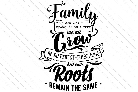 Download Free Family Are Like Branches Svg Cut File By Creative Fabrica Crafts for Cricut Explore, Silhouette and other cutting machines.