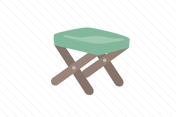Fishing Chair Nature & Outdoors Craft Cut File By Creative Fabrica Crafts