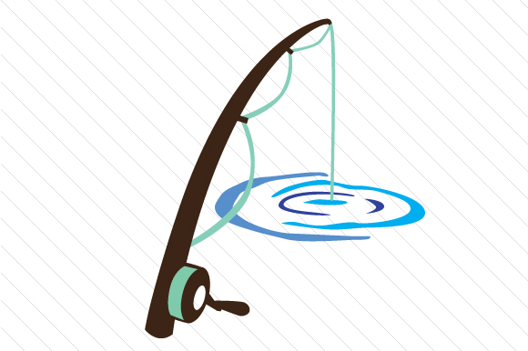 Download Free Fishing Pole Svg Cut File By Creative Fabrica Crafts Creative for Cricut Explore, Silhouette and other cutting machines.