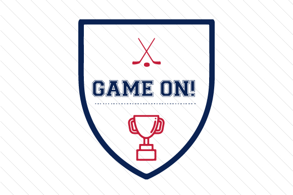 Game on Hockey Sports Craft Cut File By Creative Fabrica Crafts - Image 1