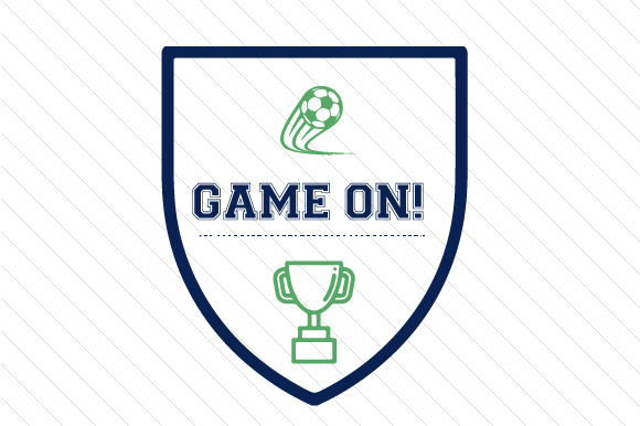 Game on Soccer Sports Craft Cut File By Creative Fabrica Crafts