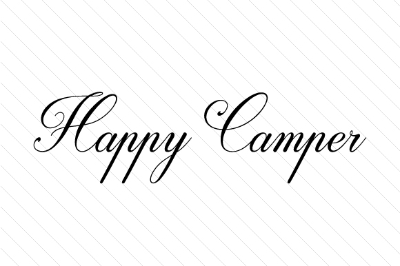 Download Free Happy Camper Svg Cut File By Creative Fabrica Crafts Creative for Cricut Explore, Silhouette and other cutting machines.