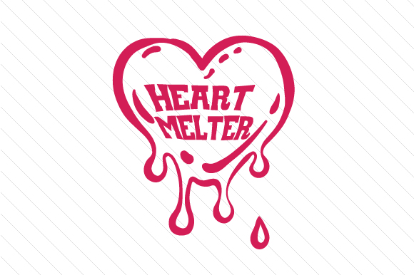 Heart Melter Kids Craft Cut File By Creative Fabrica Crafts