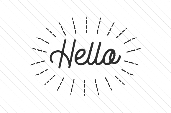 Download Free Hello Svg Cut File By Creative Fabrica Crafts Creative Fabrica for Cricut Explore, Silhouette and other cutting machines.