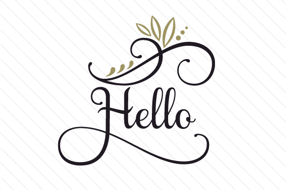 Hello Doors Signs Craft Cut File By Creative Fabrica Crafts
