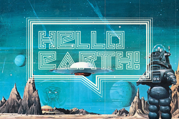 Print on Demand: Hello Earth Display Font By Kristian Koh - Image 1