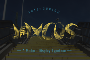Jaxcos by Seemly Fonts