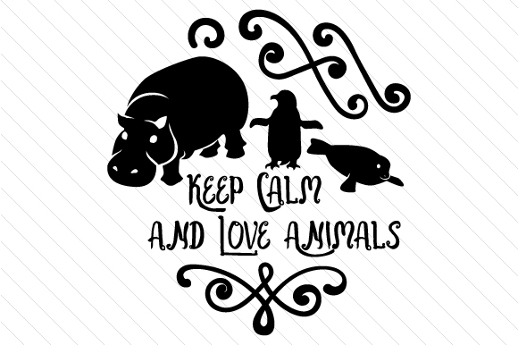 Download Free Keep Calm And Love Animals Archivos De Corte Svg Por Creative for Cricut Explore, Silhouette and other cutting machines.