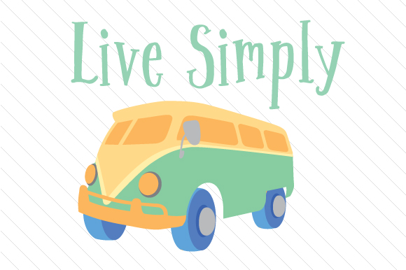 Live Simply Nature & Outdoors Craft Cut File By Creative Fabrica Crafts