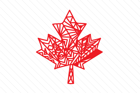 Download Free Maple Leaf Zentangle Svg Cut File By Creative Fabrica Crafts for Cricut Explore, Silhouette and other cutting machines.