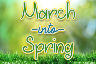 March into Spring by Misti