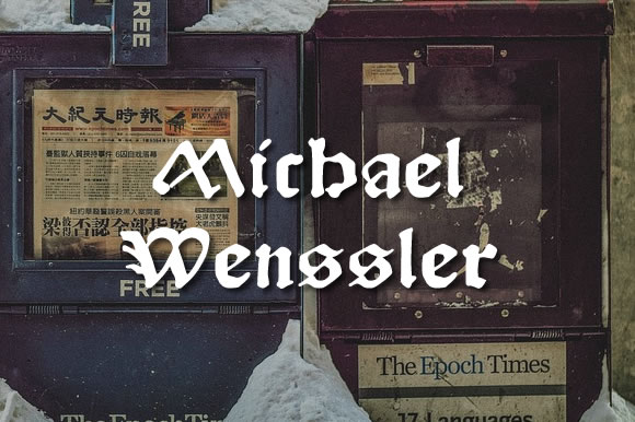 Print on Demand: Michael Wenssler Blackletter Font By Proportional Lime