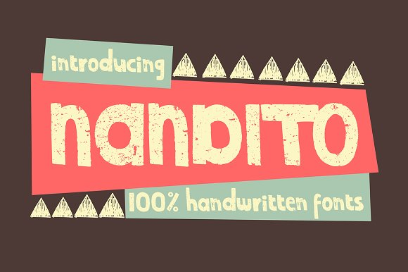 Print on Demand: Nandito Display Font By Nasir Udin