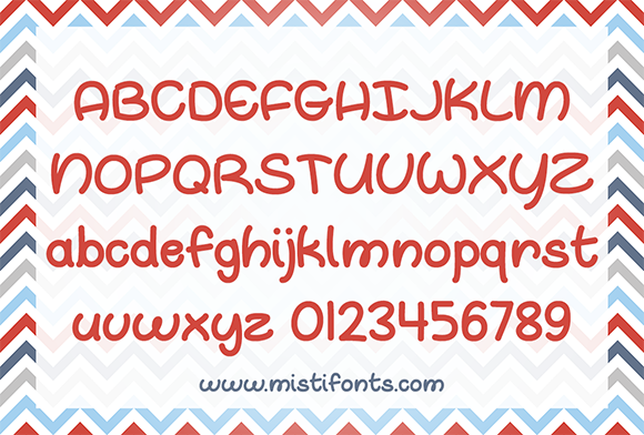 Print on Demand: Oh Whale Script & Handwritten Font By Misti - Image 2