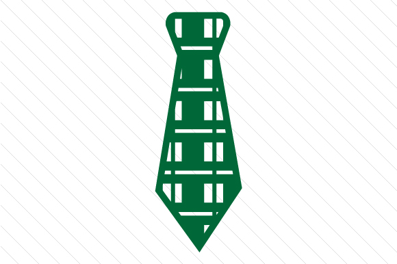 Plaid Patterned Necktie Designs & Drawings Craft Cut File By Creative Fabrica Crafts