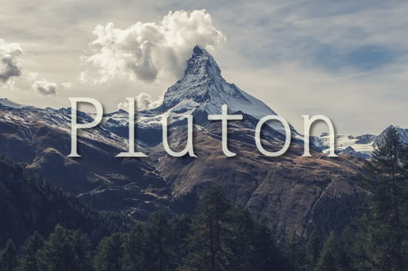Print on Demand: Pluton Serif Font By Proportional Lime