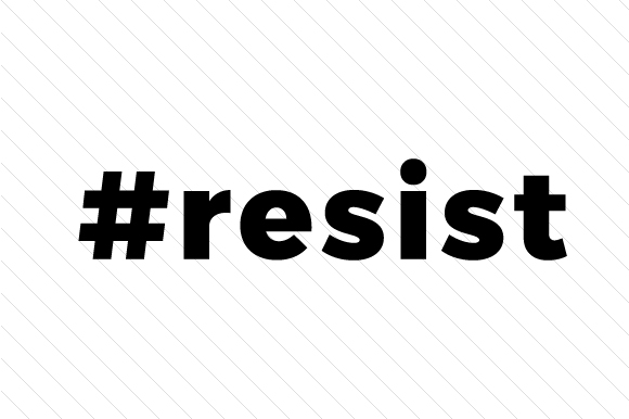 #Resist Hashtag # Craft Cut File By Creative Fabrica Crafts