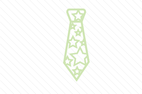 Stars Patterned Necktie Designs & Drawings Craft Cut File By Creative Fabrica Crafts