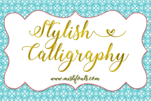Stylish Calligraphy by Misti