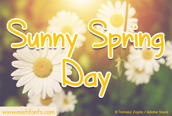 Print on Demand: Sunny Spring Day Script & Handwritten Font By Misti - Image 1